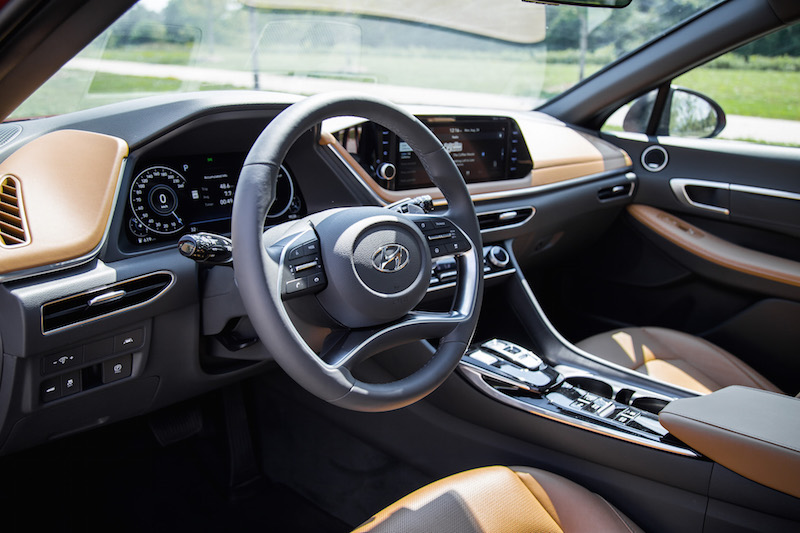 2020 Hyundai Sonata Ultimate interior