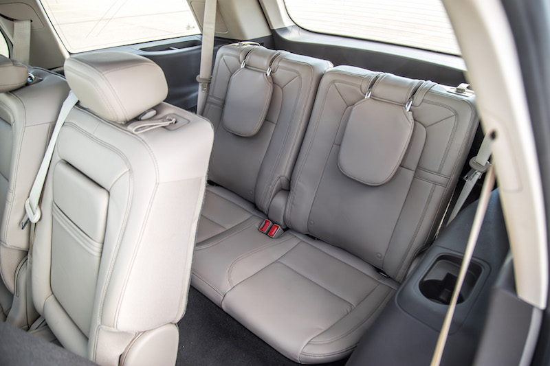 2020 Lincoln Aviator Reserve third row seats legroom headroom