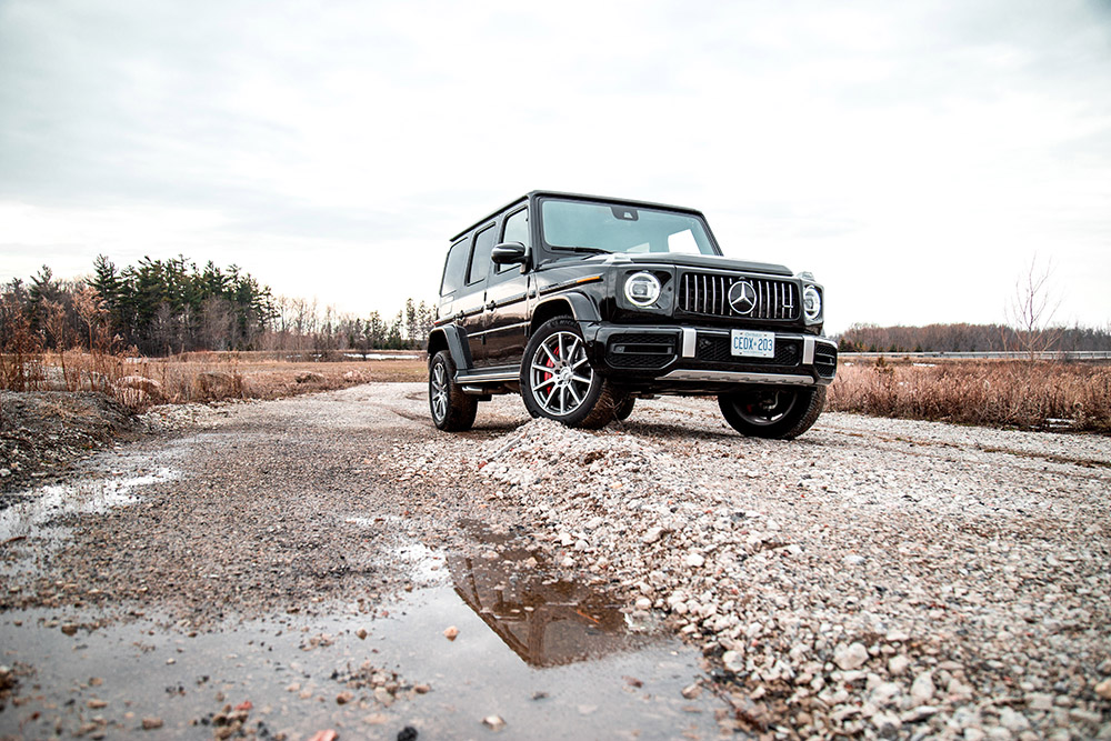 2020 Mercedes-AMG G63 designo obsidian black canada review new