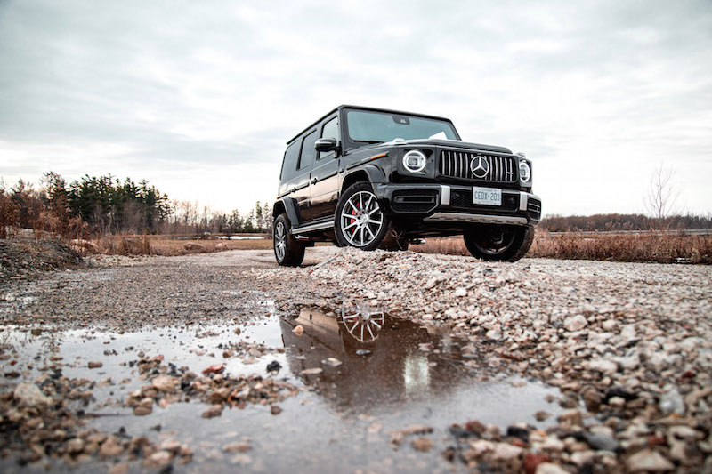 2020 Mercedes-AMG G 63 without chrome bull bar