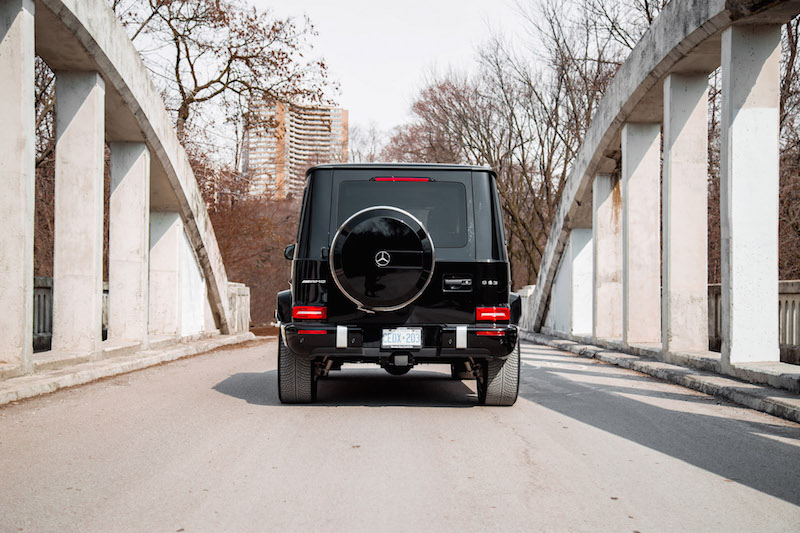 2020 Mercedes-AMG G 63 rear view