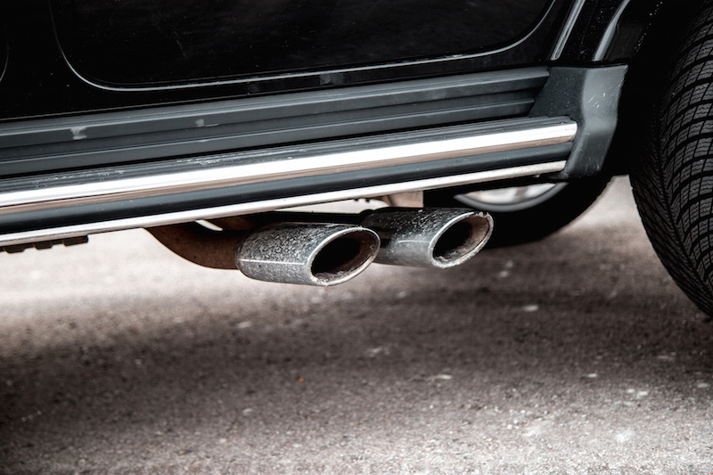 2020 Mercedes-AMG G 63 exhaust pipes