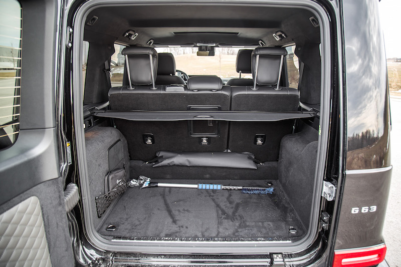 2020 Mercedes-AMG G 63 trunk space