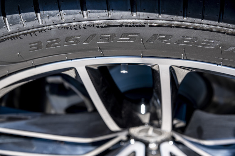 2020 Mercedes-Benz GLS optional 23-inch wheels tires