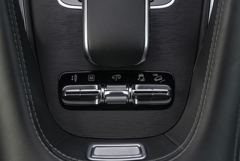 2020 Mercedes-Benz GLS off-road toggles