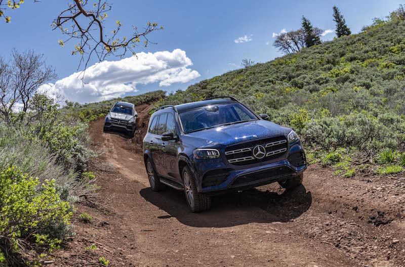 2020 Mercedes-Benz GLS off-roading