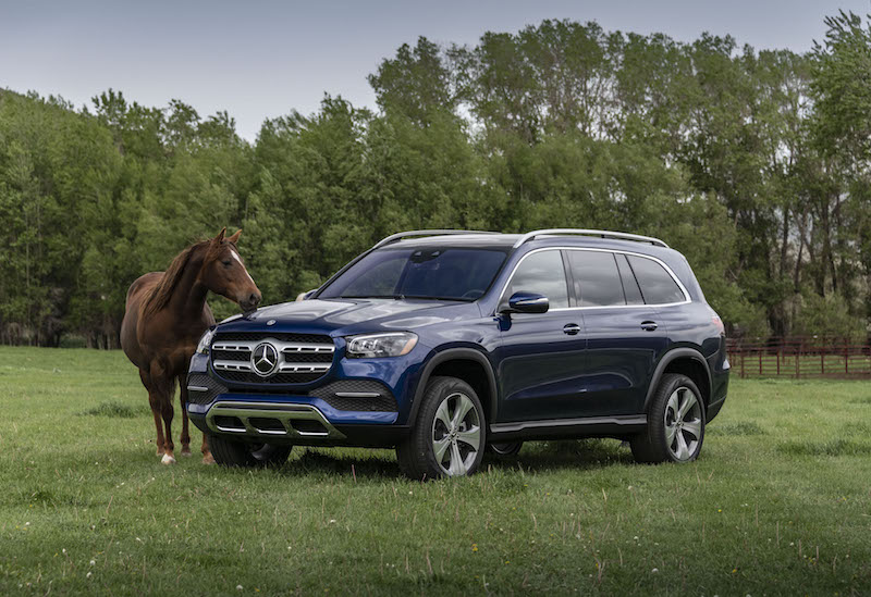 2020 Mercedes-Benz GLS 450 horsepower