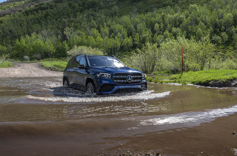 2020 Mercedes-Benz GLS water fording