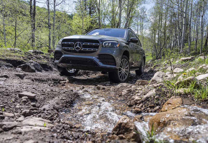 2020 Mercedes-Benz GLS rocks