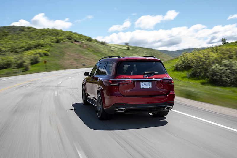 2020 Mercedes-Benz GLS 580 rear driving