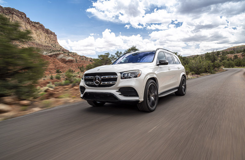 2020 Mercedes-Benz GLS 580 white paint