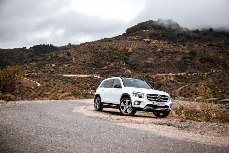 2020 Mercedes-Benz GLB 250 4MATIC andalusia spain