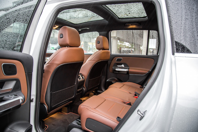 2020 Mercedes-Benz GLB 250 4MATIC rear seats