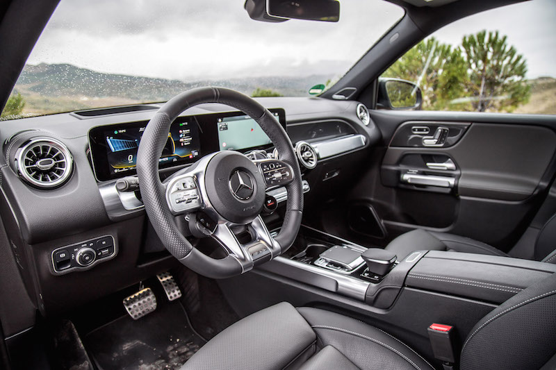 2021 Mercedes-AMG GLB 35 4MATIC black interior