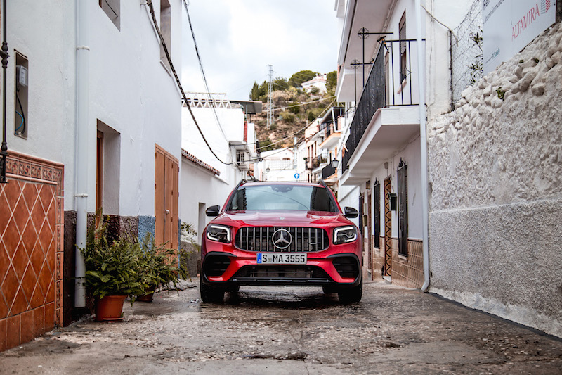 2021 Mercedes-AMG GLB 35 4MATIC in the city