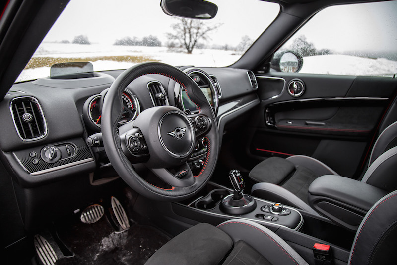 2020 MINI JCW Countryman interior
