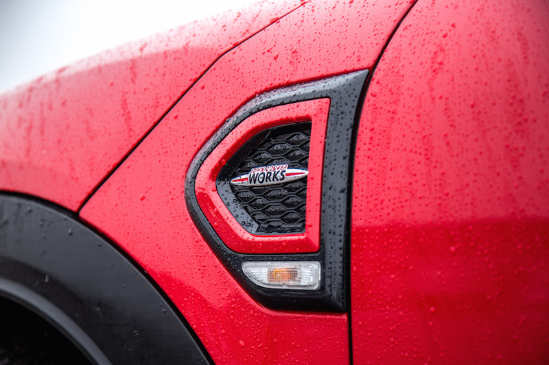 2020 MINI JCW Countryman side fender badge