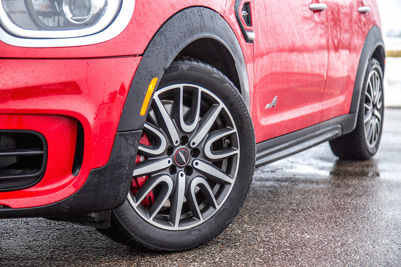 2020 MINI JCW Countryman wheels winter tires