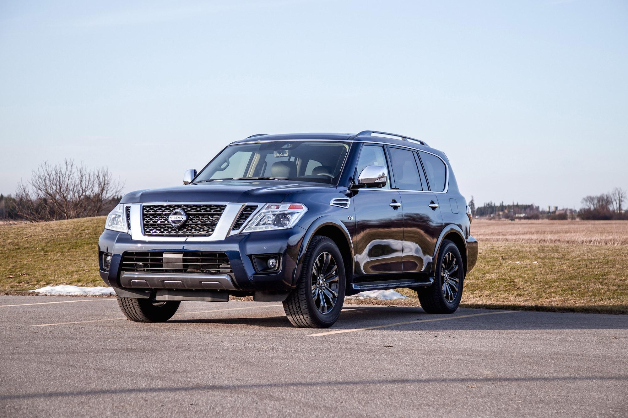 Review 2020 Nissan Armada Platinum Car