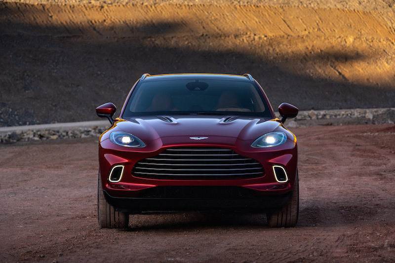 Aston Martin DBX front view