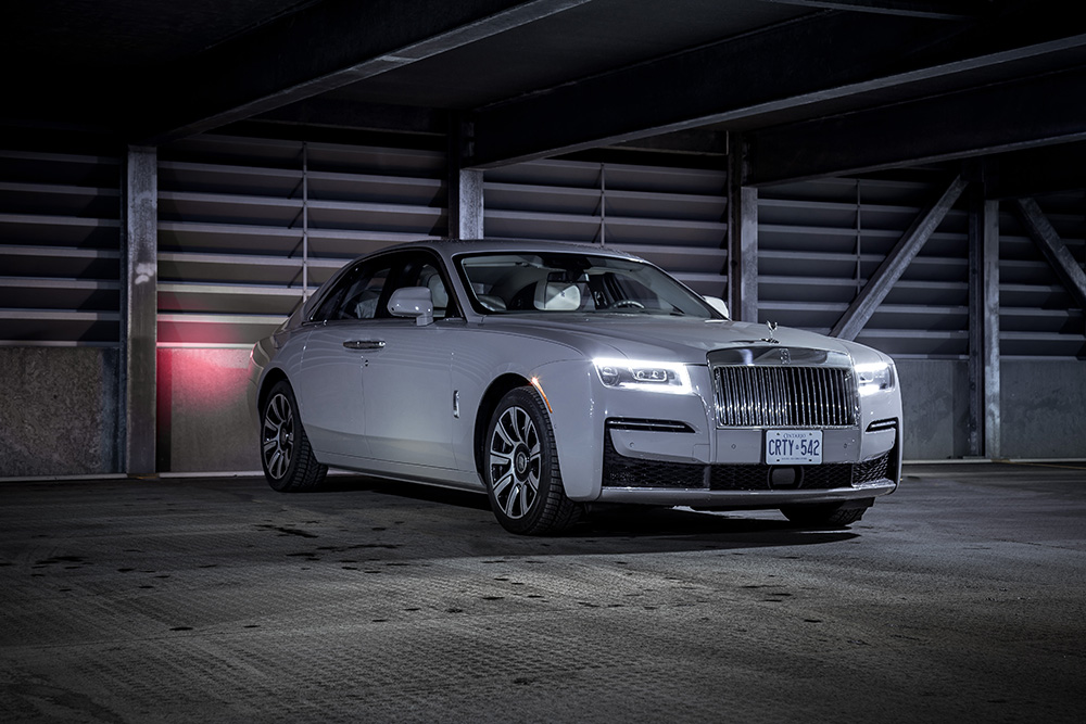 2021 Rolls-Royce Ghost canada review