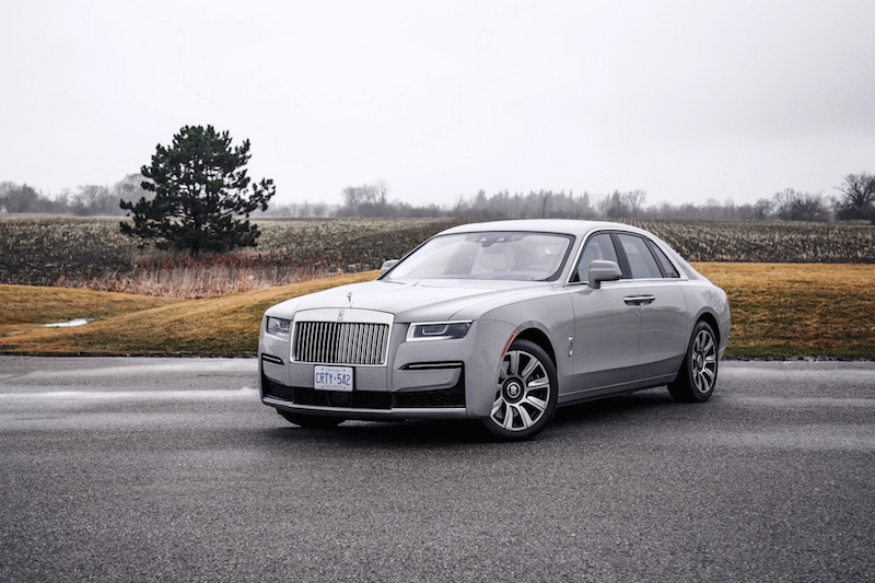 2021 Rolls-Royce Ghost Tempest Grey