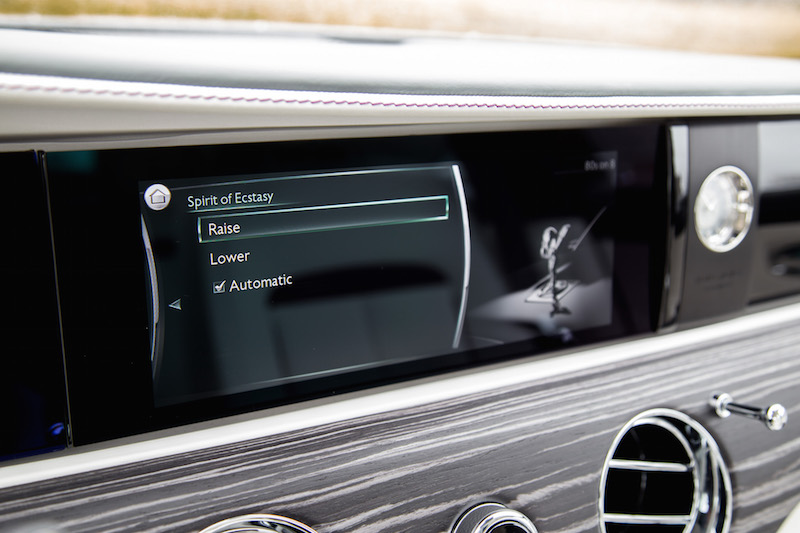 2021 Rolls-Royce Ghost infotainment
