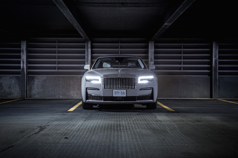 2021 Rolls-Royce Ghost Tempest Grey front view
