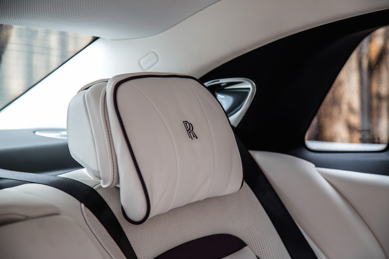 2021 Rolls-Royce Ghost grace white headrest rear