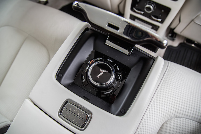 2021 Rolls-Royce Ghost grace white rear controls