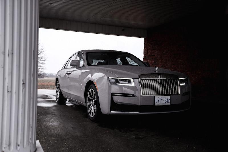 2021 Rolls-Royce Ghost Grey