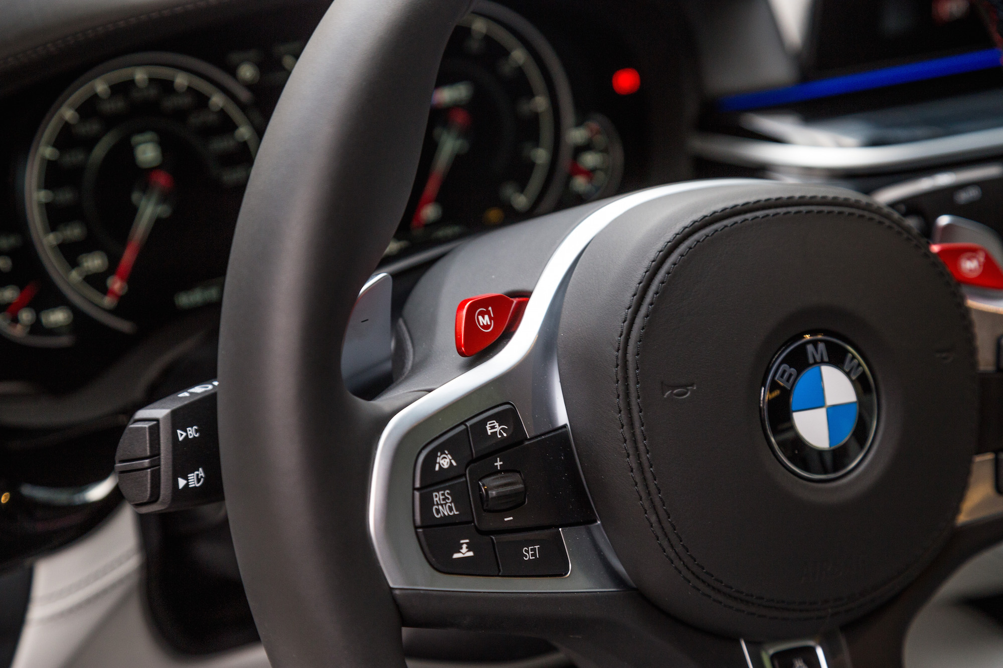 Bmw M Red M Buttons