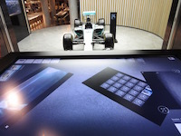 mercedes me hk interactive table